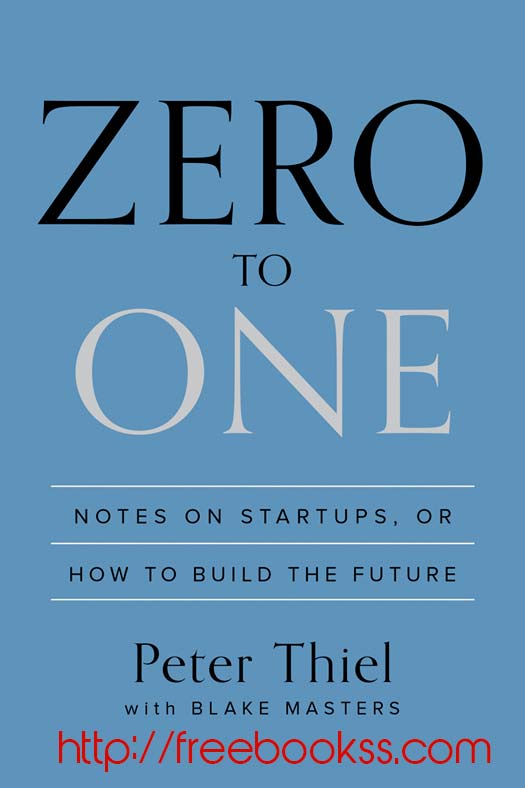 Download ebook Zero to One