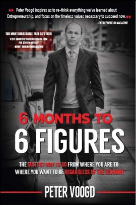 6 Months to 6 Figures ebook EPUB/PDF/PRC/MOBI/AZW3 by Peter Voogd