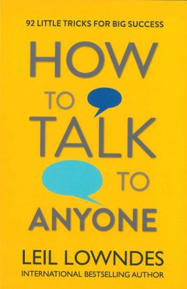 How to Talk to Anyone ebook EPUB/PDF/PRC/MOBI/AZW3 by Leil Lowndes
