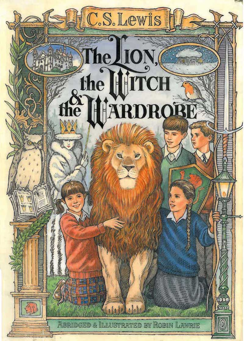 Download ebook The Lion, the Witch and the Wardrobe