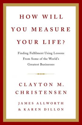 How Will You Measure Your Life ebook epub/pdf/prc/mobi/azw3