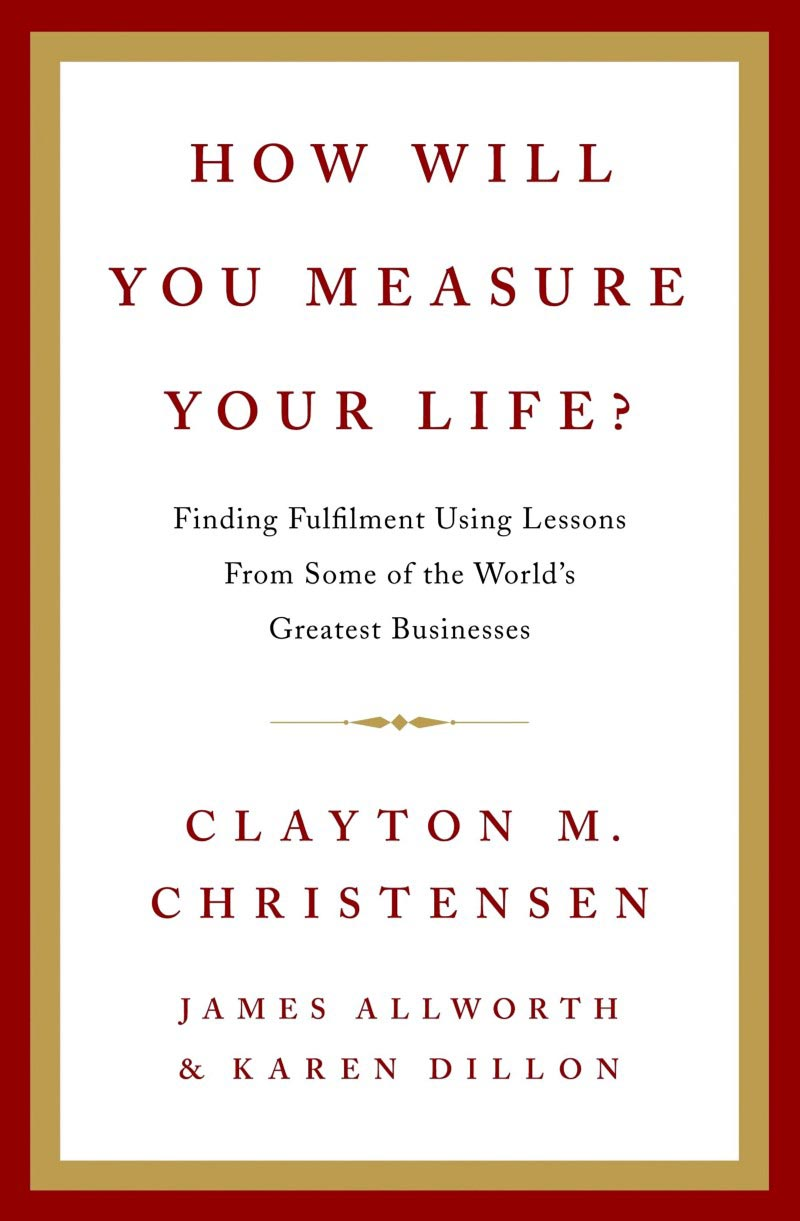 Download ebook How Will You Measure Your Life?