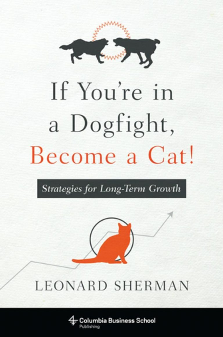 Download ebook If You're in a Dogfight, Become a Cat!
