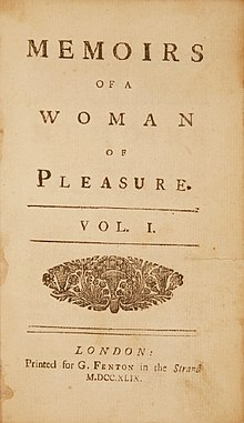 Download ebook Memoirs Of Fanny Hill