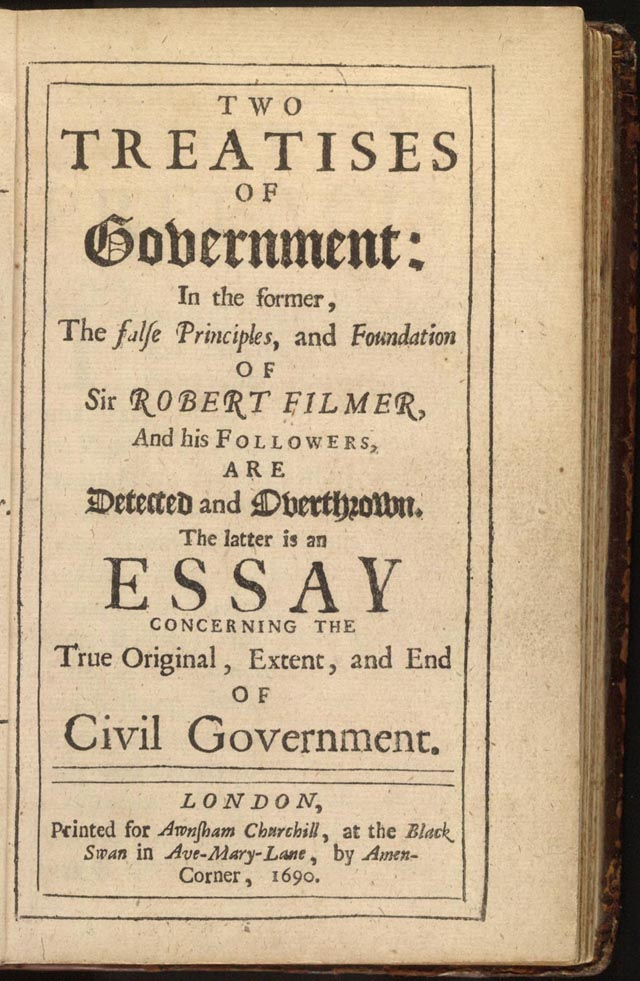 Download ebook Second Treatise of Government