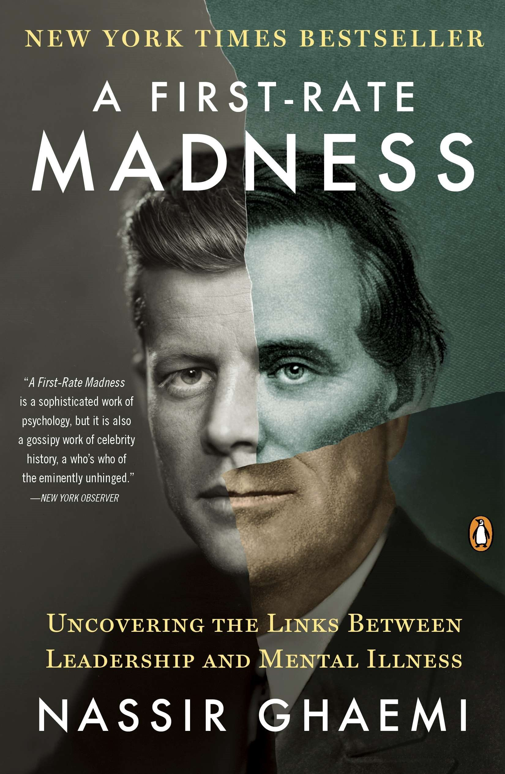 Download ebook A First-Rate Madness Uncovering the Links Between Leadership and Mental Illness