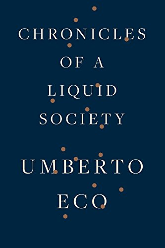 Download ebook Chronicles of a Liquid Society