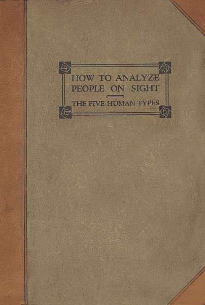 Download ebook How to Analyze People on Sight