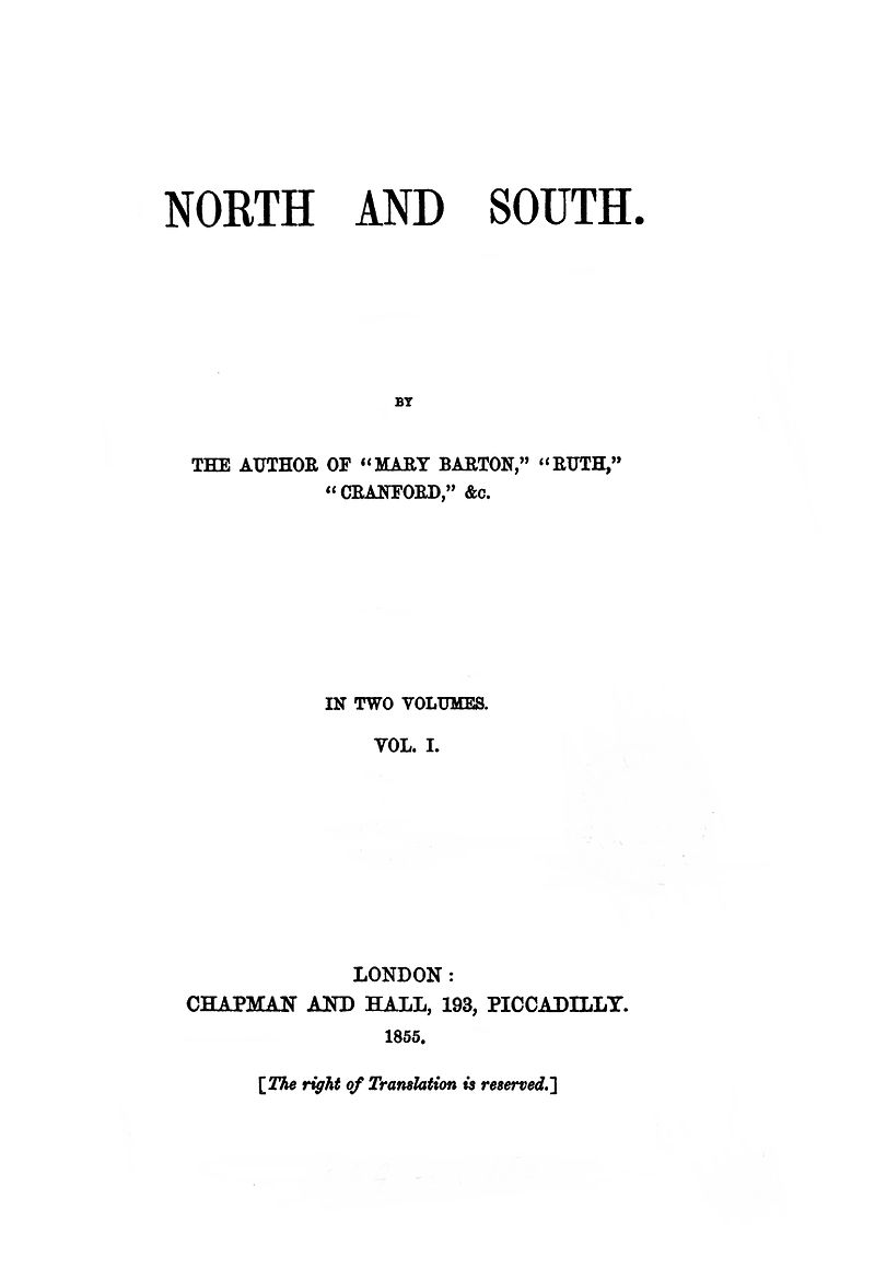 Download ebook North and South