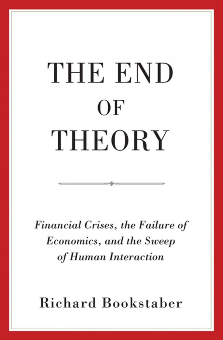 Download ebook The End of Theory