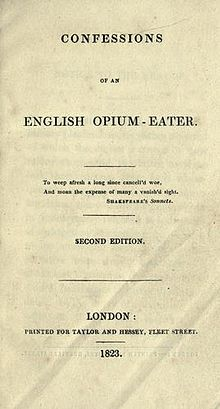 Download ebook Confessions of an English Opium-Eater